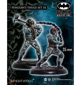 Knight Models KM BATMAN (35mm) Penquin's Thugs Set III