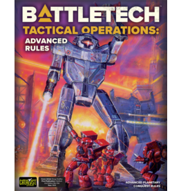 Catalyst Game Labs BattleTech Tactical Operations Advanced Rules