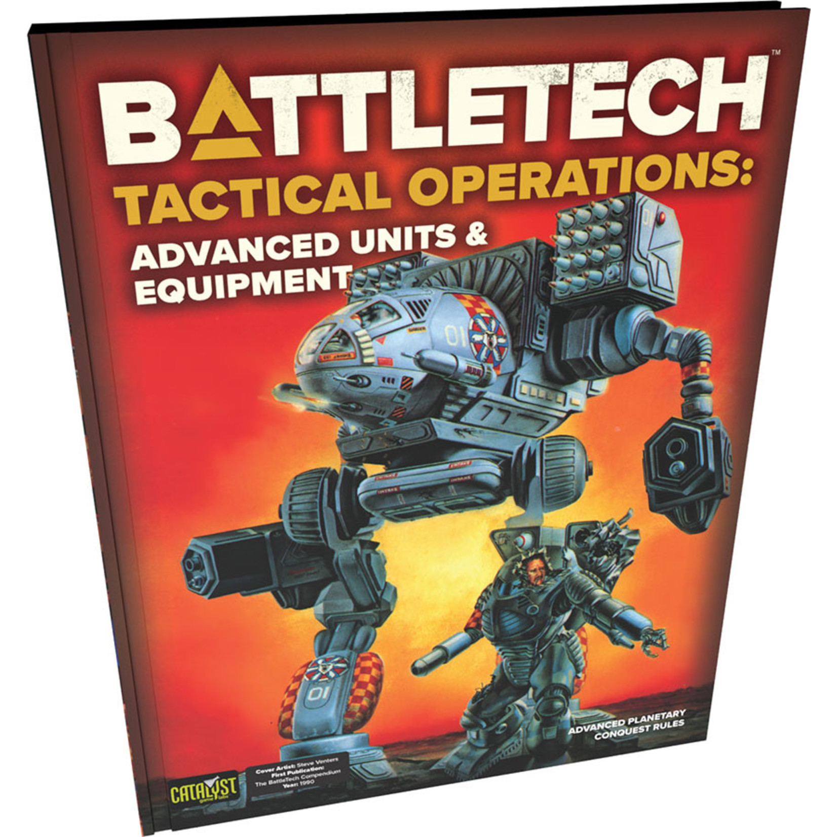 Catalyst Game Labs BattleTech Tactical Operations Advanced Units & Equipment
