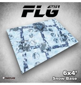 Frontline Gaming FLG Snow Base 6x4' Mat