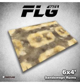 Frontline Gaming Sandswept Ruins 6x4' FLG Mat
