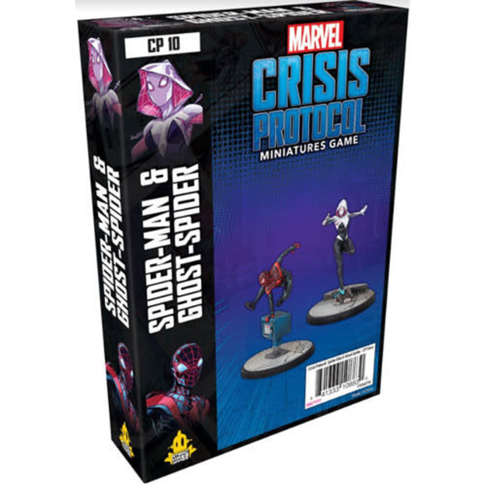 Atomic Mass Games Marvel Crisis Protocol - Spider-Man & Ghost Spider Character Pack