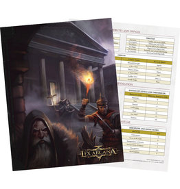 Ares Games SRL Lex Arcana RPG Demiurge Screen