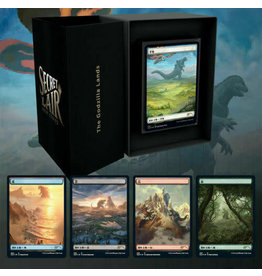 WOTC MTG MTG Secret Lair Godzilla Lands