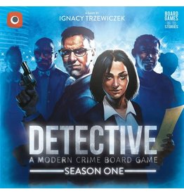 Portal Games Detective A Modern Crime Board Game Season One