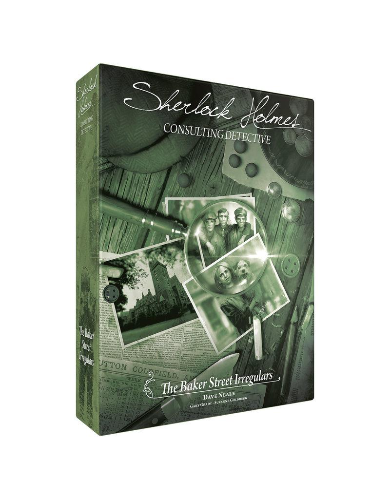 Asmodee Studios Sherlock Holmes Consulting Detective Baker Street Irregulars