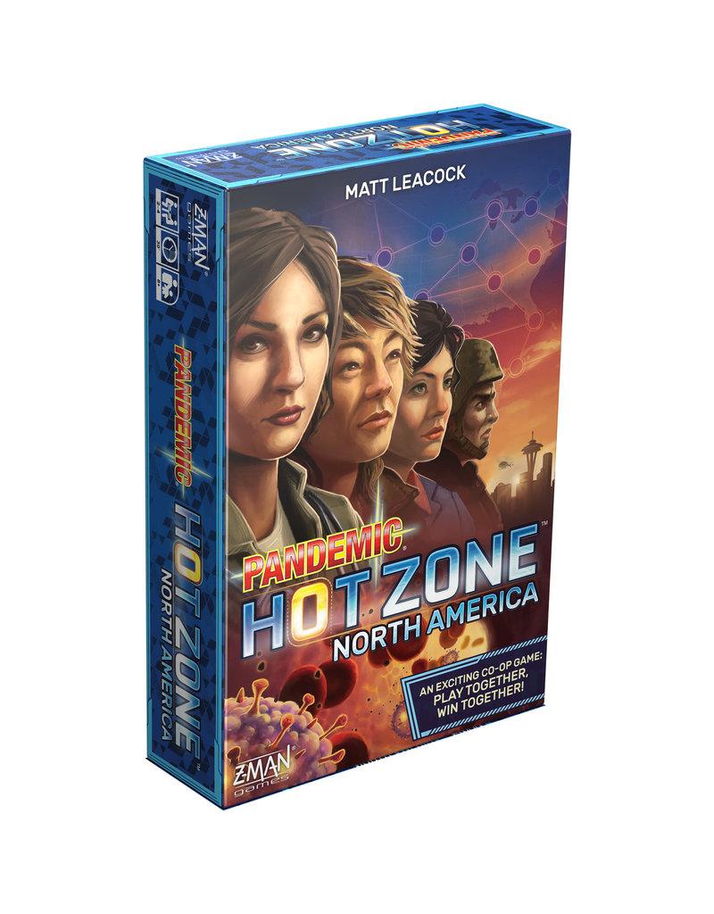 ZMan Games Pandemic: Hot Zone – North America