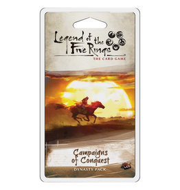 Asmodee Studios L5R LCG Campaigns of Conquest Dynasty Pack