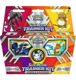 Pokemon USA Pokemon Sun & Moon Trainer Kit, Lycanroc & Alolan Raichu