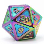 Die Hard Dice Dire d20 - Mythica Scorched Rainbow 25mm