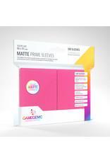 GAMEGEN!C Matte Prime Sleeves Pink (100) 66 x 91mm