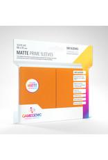 GAMEGEN!C Matte Prime Sleeves Orange (100) 66 x 91mm