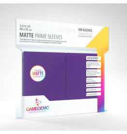 GAMEGEN!C Matte Prime Sleeves Purple (100) 66 x 91mm