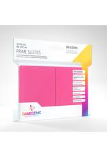 GAMEGEN!C Prime Sleeves Pink (100) 66 x 91mm