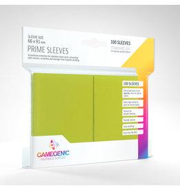 GAMEGEN!C Prime Sleeves Lime (100) 66 x 91mm