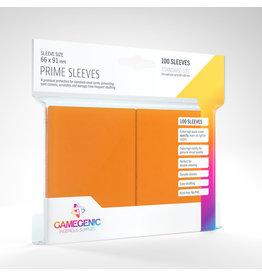 GAMEGEN!C Prime Sleeves Orange (100) 66 x 91mm
