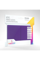 GAMEGEN!C Prime Sleeves Purple (100) 66 x 91mm