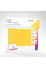 GAMEGEN!C Prime Sleeves Yellow (100) 66 x 91mm