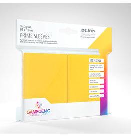 GAMEGEN!C Prime Sleeves Yellow (100) 66 x 91mm