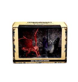 WIZKIDS/NECA Pathfinder Battles City of Last Omens Adult Red & Black Dragon