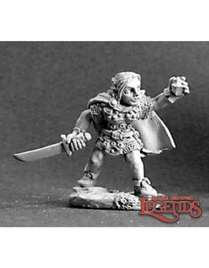 Reaper Bones: Ingrid Female Gnome Rogue Dark Heaven Bones