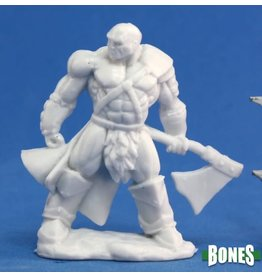Reaper Bones: Goldar, Male Barbarian