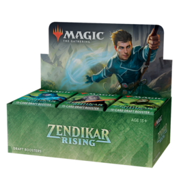 WOTC MTG MTG Zendikar Rising Draft Booster Display