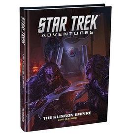 Modiphius Star Trek Adventures RPG Klingon Empire Core