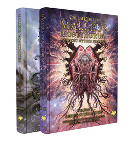 Chaosium Call of Cthulhu: Malleus Monstrorum Cthulhu Mythos Bestiary Two Volume Slipcase Set