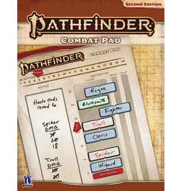 Paizo Combat Pad Pathfinder RPG P2