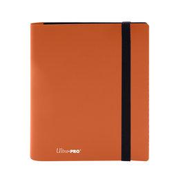 Ultra Pro Pro Binder Eclipse 4-Pocket Pumpkin Orange