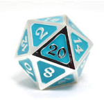 Die Hard Dice Dire d20 - AfterDark Neon Rain 25mm