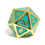 Die Hard Dice Dire d20 - AfterDark Neon Surf 25mm