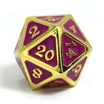 Die Hard Dice Dire d20 - AfterDark Neon Nightlife 25mm