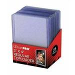 Ultra Pro Toploader: 3in x 4in Clear Regular (25)