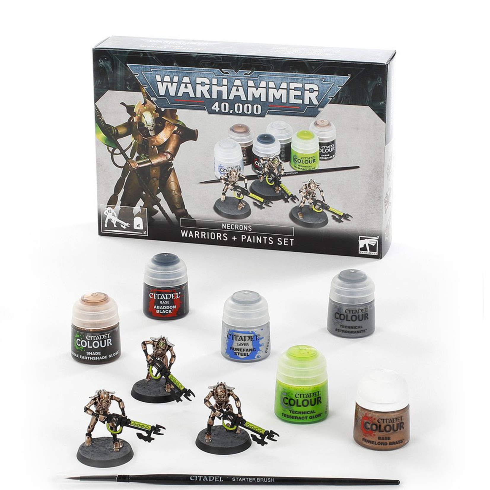Games Workshop 40K Necron Paint Set
