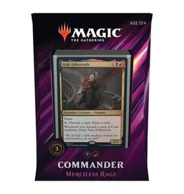 WOTC MTG MTG: Commander 2019 Merciless Rage Deck
