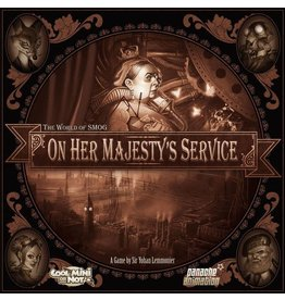 CMON On Her Majesty's Service DEMO