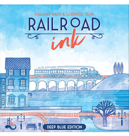 CMON Railroad Ink Blue DEMO