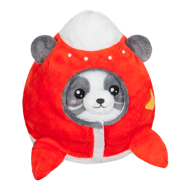 squishable Undercover Panda in Space Ship Squishable 7""