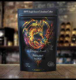 Geek Grind Dragon's Roast Dark Fire Blend Dark Roast 12oz