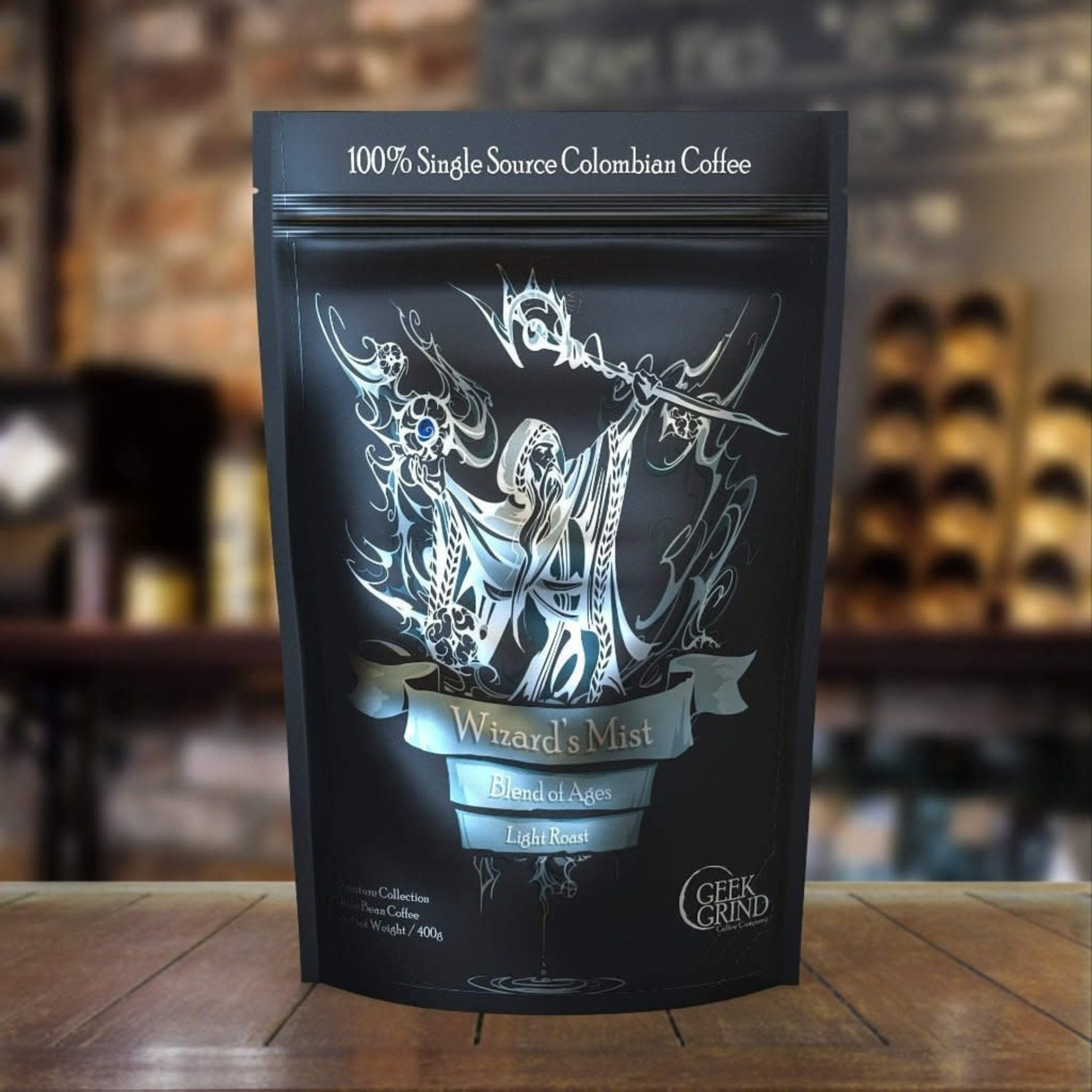 Geek Grind Wizard's Mist Blend Ages Light Roast 5lb