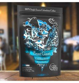 Geek Grind Frost Giant Cold Brew Blend Medium Dark Roast 14oz
