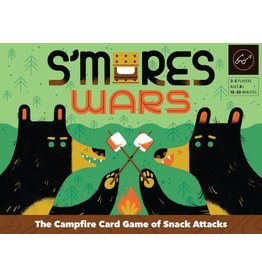 Chronicle Books S'mores Wars The Campfire Card Game of Snack Attacks