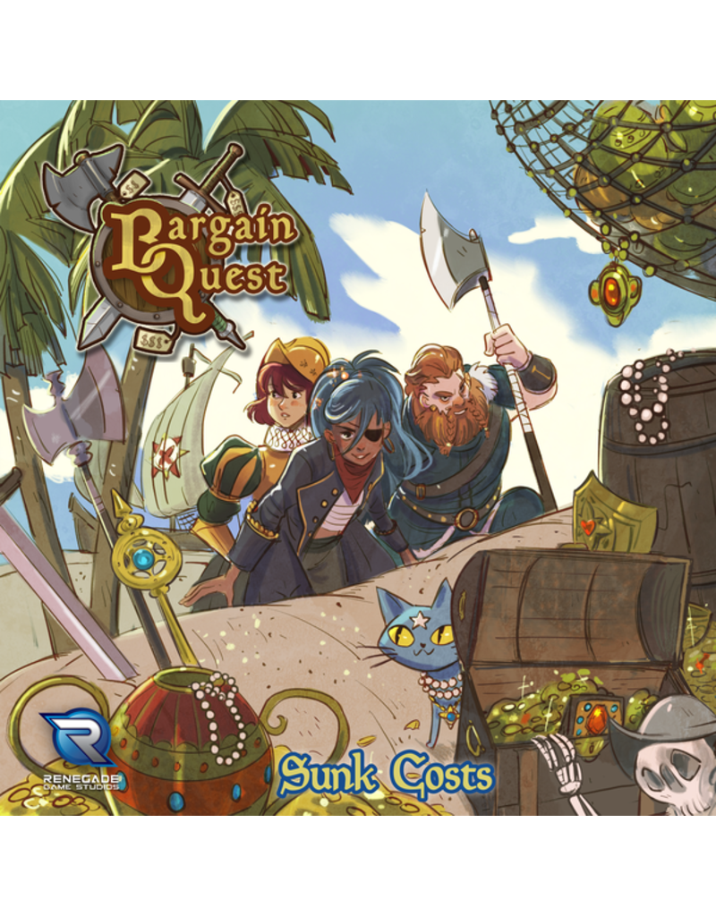 Renegade Game Studios Bargain Quest 2E Sunk Costs Expansion