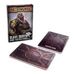 Games Workshop Necromunda Slave Ogryn Tactics Crads
