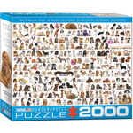 EuroGraphics The World of Dogs 2000pc