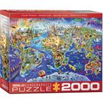 EuroGraphics Crazy World 2000pc