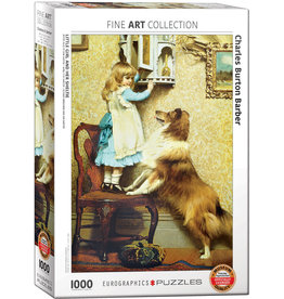 EuroGraphics Little Girl and her Sheltie 1000pc