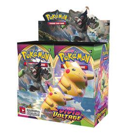 Pokemon USA Pokemon S&S Vivid Voltage Booster Display